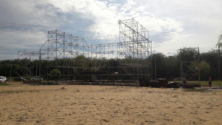 Escenario fiesta de la playa (1)