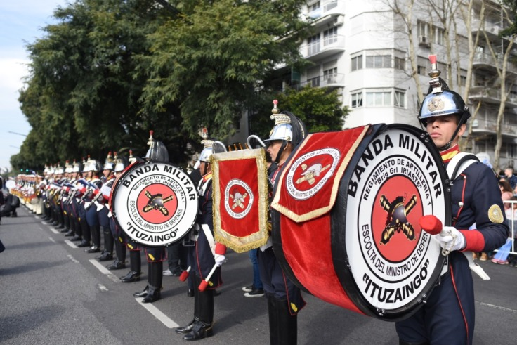 Bandas Militares en la plaza3